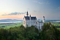 Neuschwanstein замока в Германии Стоковое фото RF