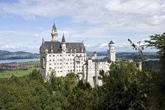 neuschwanstein замока Стоковая Фотография