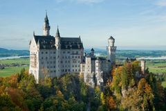 neuschwanstein замока Стоковые Изображения