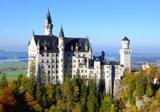neuschwanstein замока Стоковое Изображение