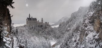 Neuschwanstein Royalty Free Stock Photography