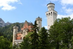 Neuschwanstein Imagem de Stock Royalty Free