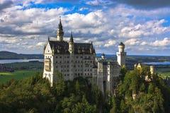 Neuschwanstein fotografia stock