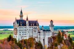 Neuschwanstein Fotos de archivo libres de regalías