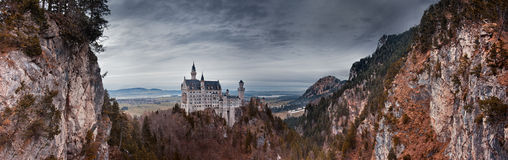Neuschwanstein Royalty Free Stock Photo