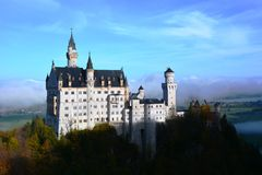 Neuschwanstein Obraz Royalty Free