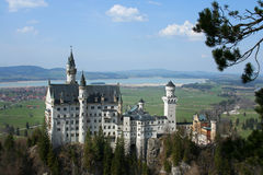 Neuschwanstein Stock Photo