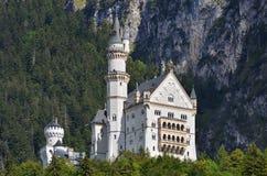 Neuschwanstein, Bayern Lizenzfreies Stockbild