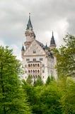 Neuschwanstein, beau château près de Munich en Bavière, Allemagne image stock