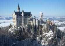 Neuschwanstein Castle Στοκ φωτογραφίες με δικαίωμα ελεύθερης χρήσης