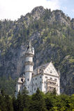 Neuschwanstein Castle. Royal palace in the Bavarian Alps of Germany, the most famous of three royal palaces built for Ludwig II of Bavaria, sometimes referred royalty free stock images