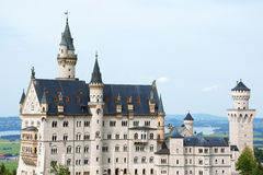 Neuschwanstein Castle Royalty Free Stock Photo