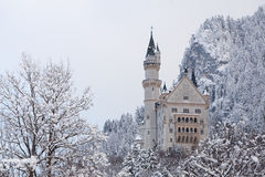 Neuschwanstein Castle. Beautiful Neuschwanstein Castle in Germany Royalty Free Stock Image
