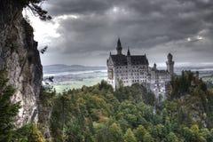 Neuschwanstein castle. Near Neuschwanstein castle, Bavaria, Germany Stock Photography