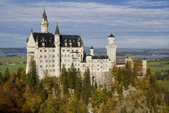 Neuschwanstein Castle Royalty Free Stock Image