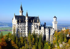Neuschwanstein Castle. Beautiful Neuschwanstein Castle in Germany Stock Image