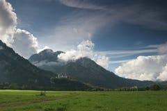 Neuschwanstein castle Royalty Free Stock Images