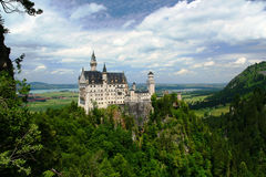 Neuschwanstein Castle Royalty Free Stock Photography