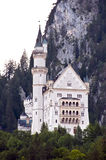 Neuschwanstein castle. A famous castle Neuschwanstein in Bavaria, Germany Stock Photos