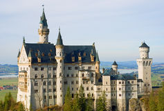 Neuschwanstein Castle. In Bavaria, Germany Stock Images