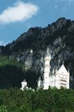 Neuschwanstein castle-Allgaeu-Germany Royalty Free Stock Photos