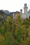 Neuschwanstein Castle in the autumn Stock Photo
