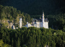 Neuschwanstein Castle in Bavaria Stock Images