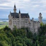Neuschwanstein Castle in Bavaria stock photos