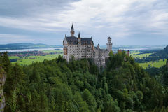 Neuschwanstein Castle in Bavaria Royalty Free Stock Image