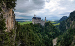 Neuschwanstein Castle in Bavaria Royalty Free Stock Photography