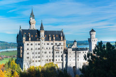 Neuschwanstein castle  Bavaria, Germany Stock Photography