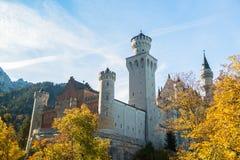Neuschwanstein castle  Bavaria, Germany Royalty Free Stock Photos