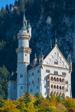 Neuschwanstein castle  Bavaria, Germany Royalty Free Stock Images