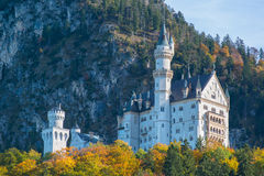 Neuschwanstein castle  Bavaria, Germany Royalty Free Stock Photography