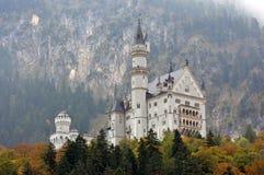 Neuschwanstein castle Royalty Free Stock Photography