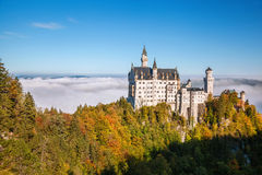 Neuschwanstein castle in Bavaria, Germany Stock Photography