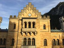 Neuschwanstein Castle, Bavaria, Germany. King Ludwig II castle inspired by composer Wagner's operas Stock Photo