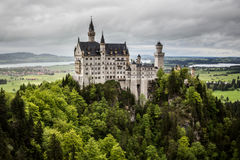 Neuschwanstein Castle, Bavaria, Germany Royalty Free Stock Photography