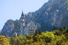 Neuschwanstein castle Royalty Free Stock Photos