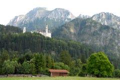 Neuschwanstein Castle in Bavaria (Germany) Royalty Free Stock Image