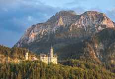 Neuschwanstein castle, Bavaria, Germany Stock Images