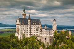 Neuschwanstein castle in Bavaria Germany Royalty Free Stock Photography
