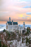 Neuschwanstein castle in Bavaria, Germany Royalty Free Stock Photography
