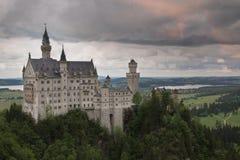 Neuschwanstein Castle, Bavaria, Munich, Germany Royalty Free Stock Photo