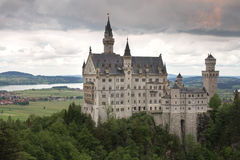 Neuschwanstein Castle, Bavaria, Munich, Germany Royalty Free Stock Image