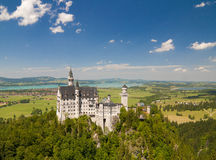 Neuschwanstein Castle, Bavaria Royalty Free Stock Photo