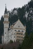 Neuschwanstein Castle in Bavaria Royalty Free Stock Images
