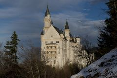 Neuschwanstein Castle in Bavaria Stock Photography