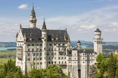 Neuschwanstein castle. Stock Images