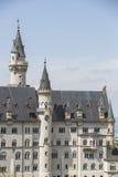 Neuschwanstein castle. Neuschwanstein castle in Bavarian alps, Germany Stock Photography